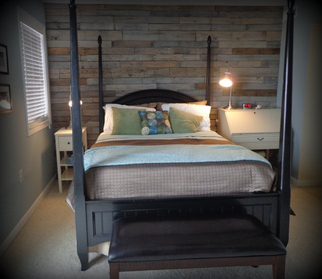 Warm Rustic Home Decorating Pinterest: Warm And Rustic Pallet Wood Wall Diy