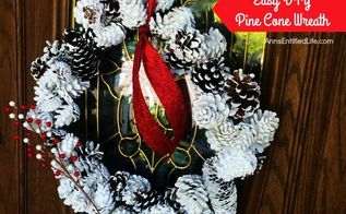Diy Pine Cone Wreath Using Chicken Wire Hometalk
