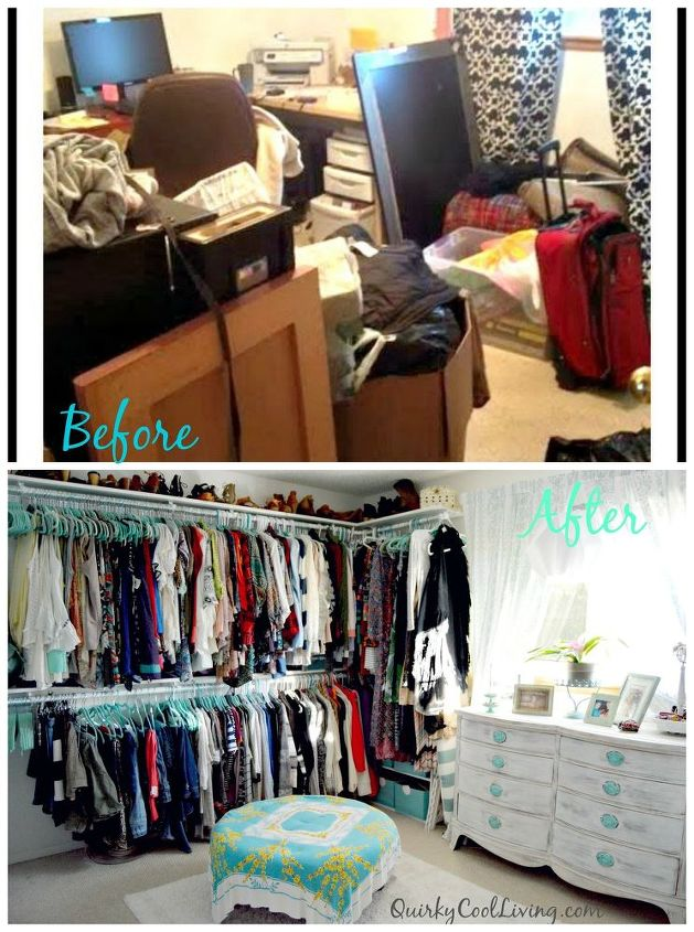 Top Before and After: Spare Room Turned Closet on a Budget. | Hometalk JS64