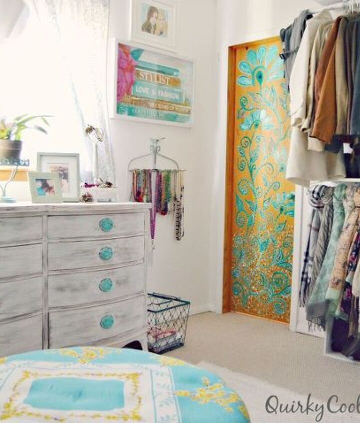 before and after spare room turned closet on a budget, bedroom ideas, closet, organizing