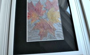 easy autumn leaf art, crafts, seasonal holiday decor