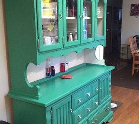 Circa 70 S Pine Dining Room Hutch Gets A New Lease On Life, Painted  Furniture