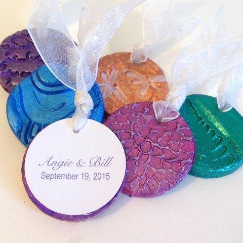 diy wedding crafts with air dry clay, crafts