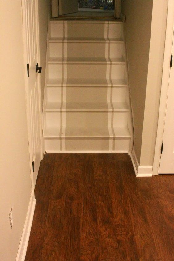 painted playroom stairs, entertainment rec rooms, home improvement, stairs