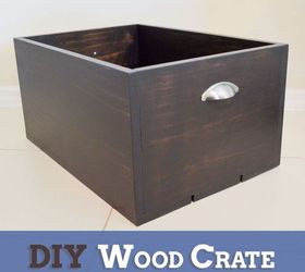 diy wood crate diy home decor storage ideas woodworking projects & DIY Wood Crate | Hometalk