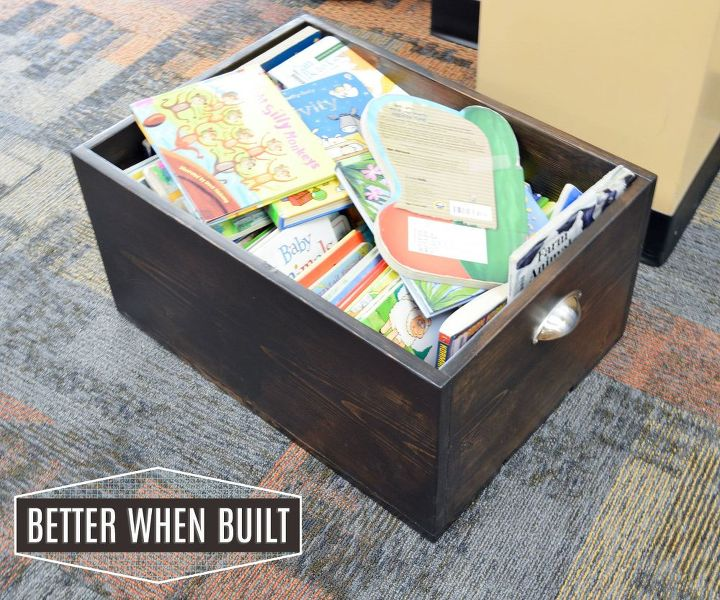 diy wood crate, diy, home decor, storage ideas, woodworking projects
