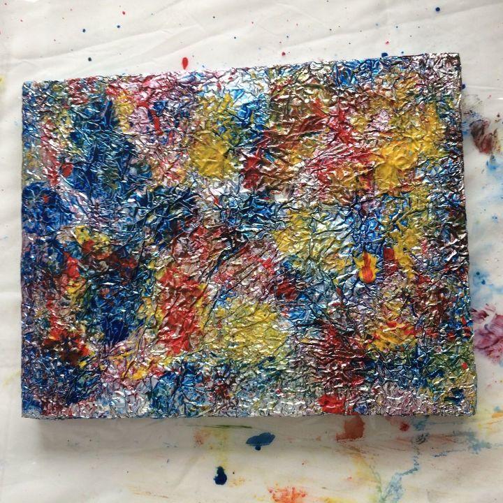 spit challenge unicorn spit turns aluminum foil into art, crafts