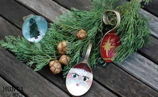 mismatched flatware santa, christmas decorations, crafts, repurposing upcycling, seasonal holiday decor