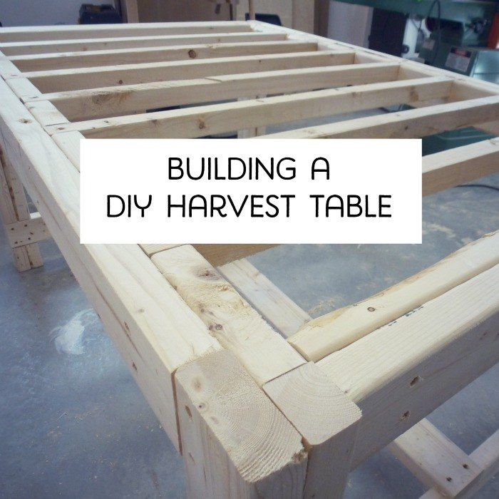 How To Build A Diy Harvest Table Painted Furniture