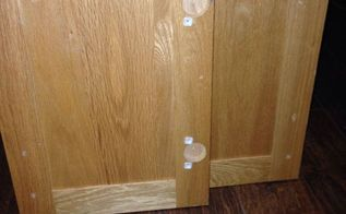 easy project with old cupboard doors spitchallenge, crafts, repurposing upcycling, Before