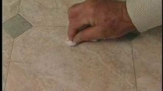 Bad Scratch In Linoleum Floor How Do I