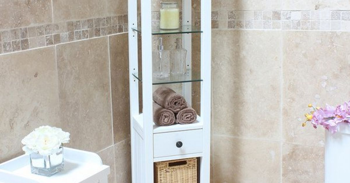 10 Tips for Organizing Open Bathroom Shelves | Hometalk