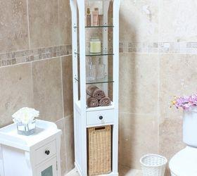 10 Tips For Organizing Open Bathroom Shelves, Bathroom Ideas, Organizing, Shelving  Ideas,