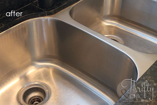 How To Make Your Stainless Steel Sink Shine! | Hometalk