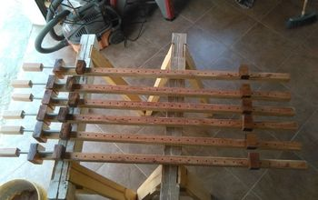 wooden bar clamps, diy, tools, woodworking projects