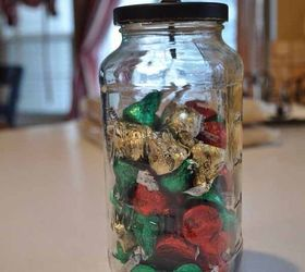Candy Craft Ideas For Christmas Part - 45: Diy Christmas Candy Jars, Christmas Decorations, Crafts, Seasonal Holiday  Decor