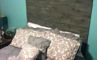 copycat custom cedar headboard, bedroom ideas, diy, home decor, wall decor, woodworking projects