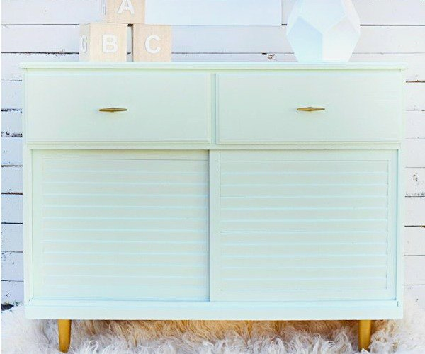 s 18 gorgeous furniture saves guaranteed to make you smile, painted furniture, This Little Mint Number