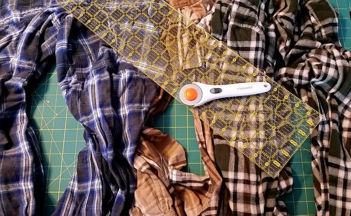 flannel scraps reusable hand warmers, crafts, repurposing upcycling