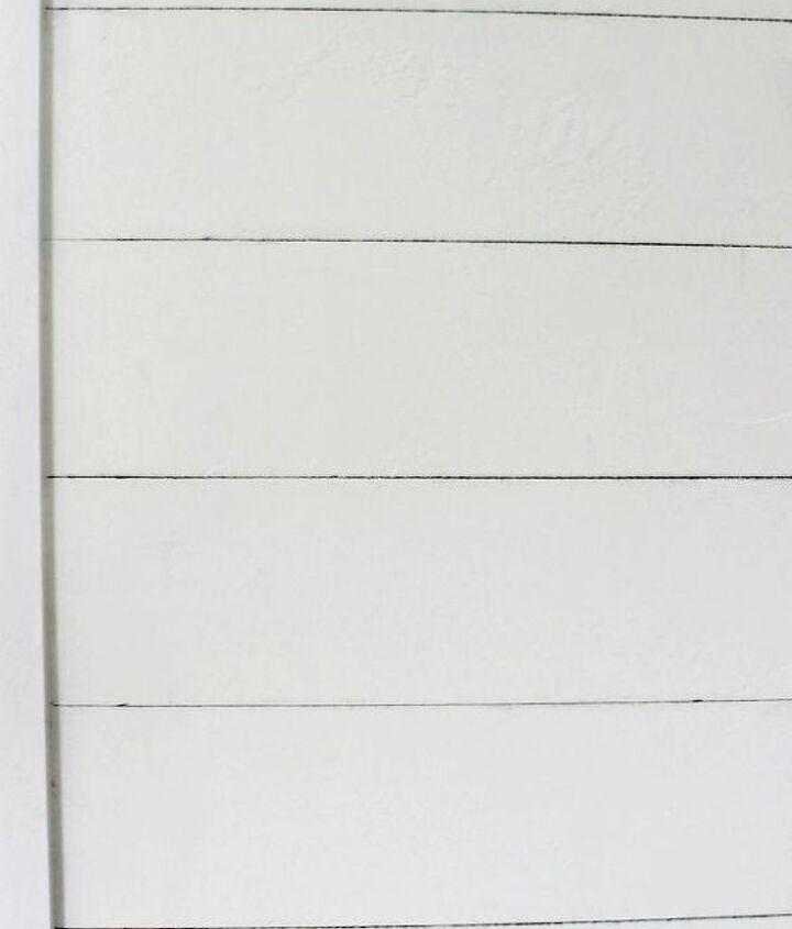 fake planks, bedroom ideas, diy, painting, wall decor