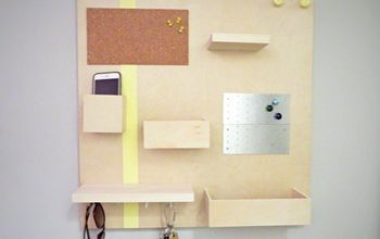 modern wall organizer diy, diy, home decor, kitchen design, organizing, wall decor, woodworking projects