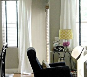 New Ikea Curtains, Home Decor, Living Room Ideas, Window Treatments