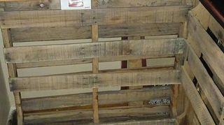pallet paradise bar, diy, pallet, woodworking projects, this where im going to put a mini fridge in