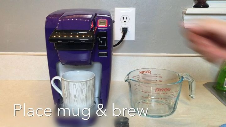 how to clean keurig mini, cleaning tips, home maintenance repairs, how to