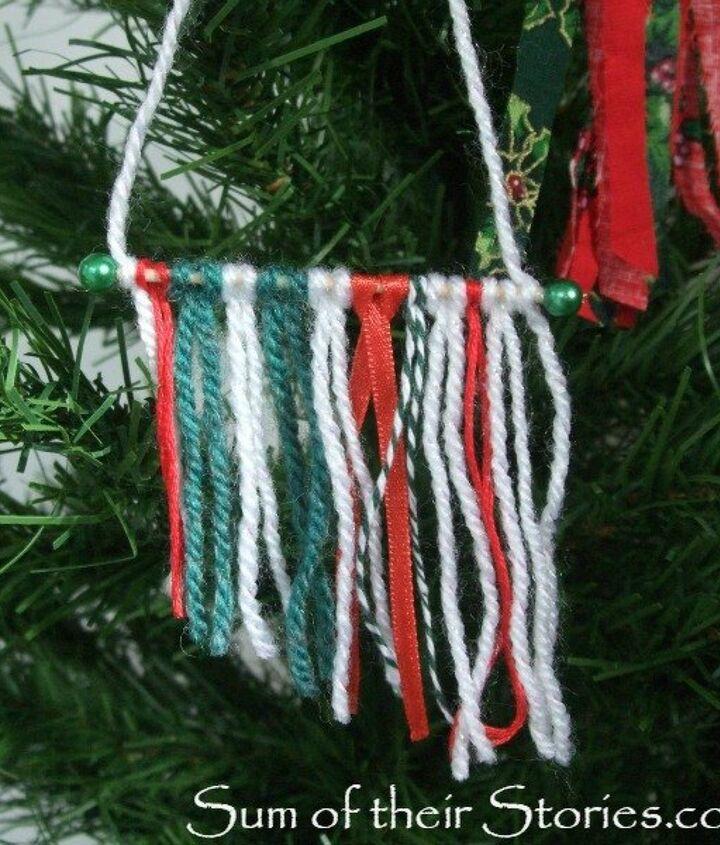 Mini Yarn Wall Hanging Ornament