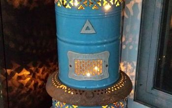 Repurposed Vintage Heater ~