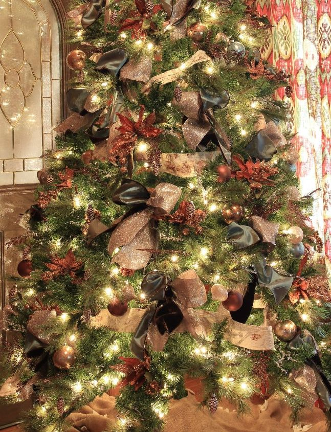 Country Christmas Tree.Country Christmas Decorating Ideas Hometalk