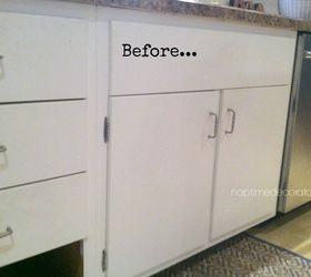 adding trim to 1960s cabinets diy kitchen cabinets kitchen design woodworking projects adding trim to 1960s cabinets   hometalk  rh   hometalk com