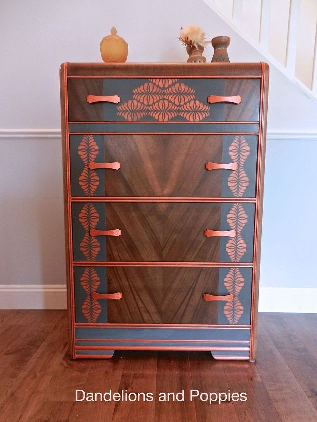 Completely New A Sad Art Deco Dresser Rescued By The Fairy Hometalk Ov77
