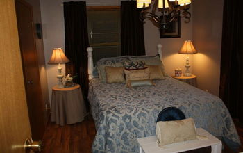 updating and staging a vacant house, real estate, Master bedroom AFTER updating and staging