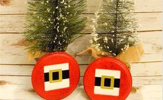 santa s belt buckle decoration, christmas decorations, crafts