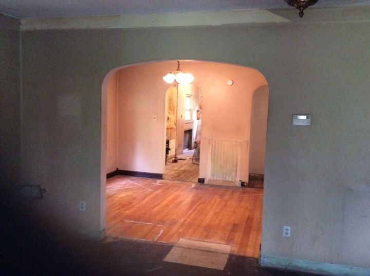 little lake cottage re done, fireplaces mantels, home improvement, living room ideas