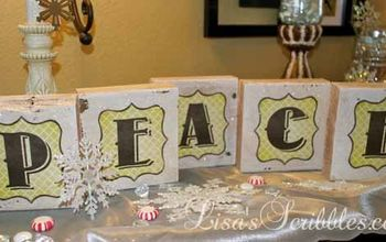 DIY Christmas - Wooden Projects #1