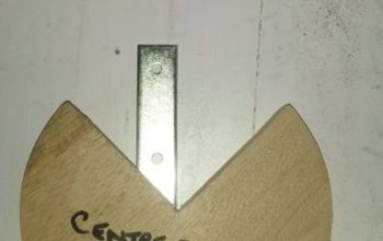centre finding jig, diy, woodworking projects