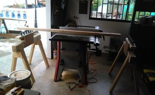table saw out feed rollers, diy, tools, woodworking projects