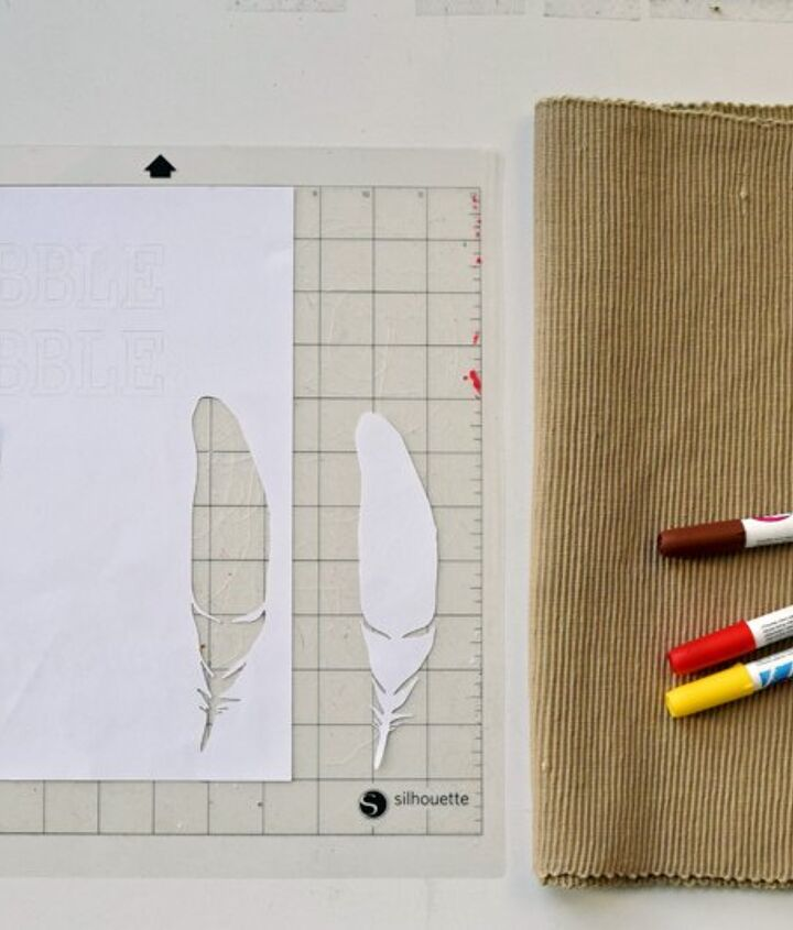 simple thanksgiving placemats, crafts, seasonal holiday decor, thanksgiving decorations