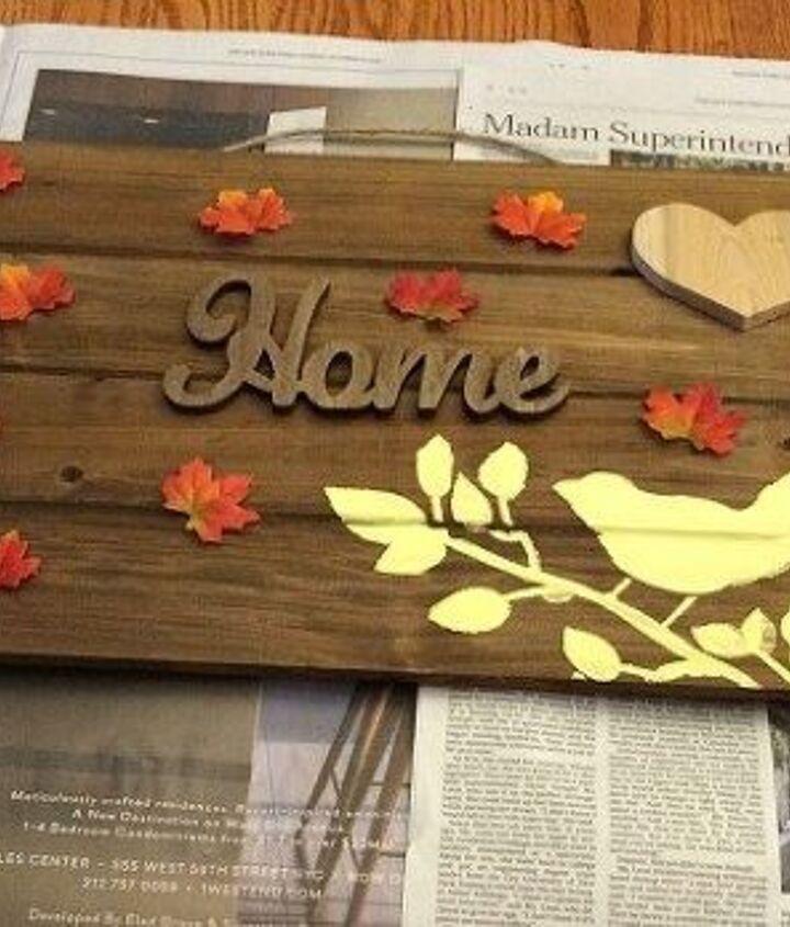 autumn thanksgiving pallet, crafts, pallet, seasonal holiday decor, thanksgiving decorations