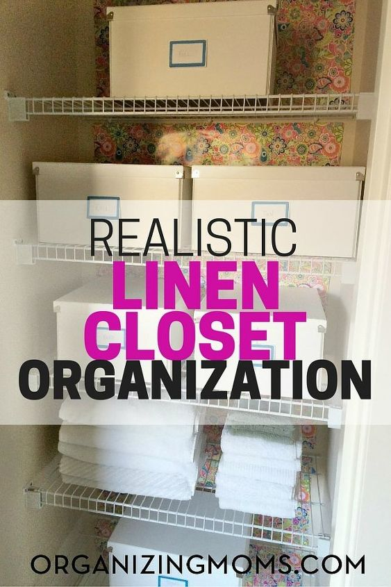 Realistic Linen Closet Organization Hometalk Custom Bathroom Closet Organization Ideas