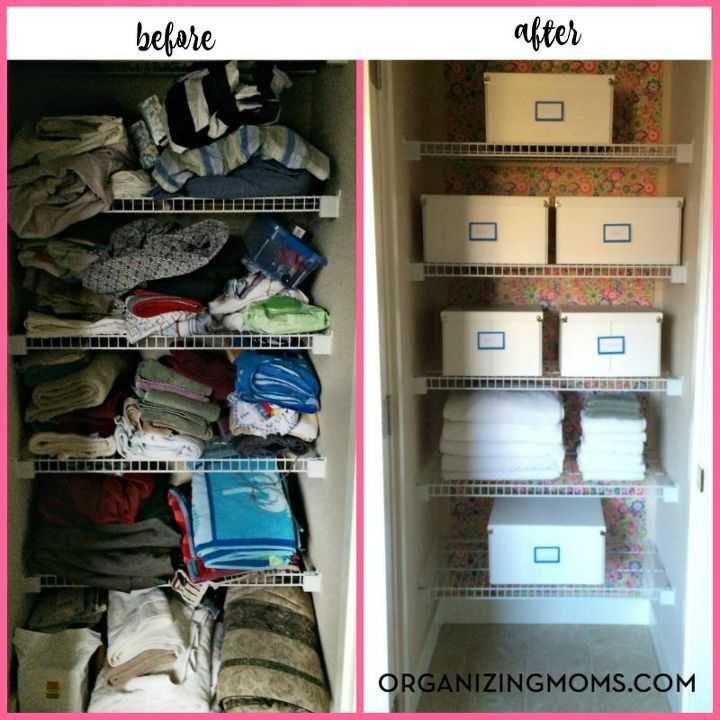 simpl simple after simplified before stylish organization bee closet linen organized