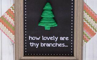 o christmas tree wall hanging christmas decorations crafts ann - Wall Hanging Christmas Tree