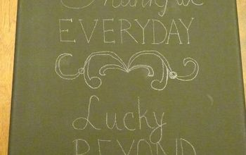 Thankful Everyday Canvas Wall Art - 5 Easy Steps