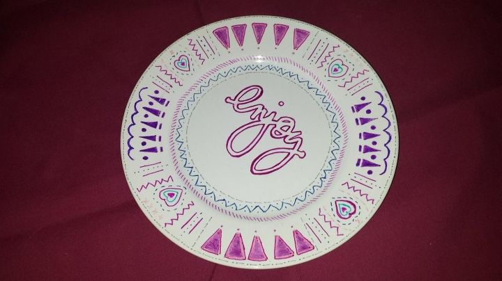 I Want To Paint Over Designs On Plates That Is A Food Safe Product