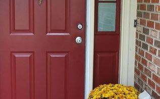 6 ways to fall in love with your front door, curb appeal, doors, painting