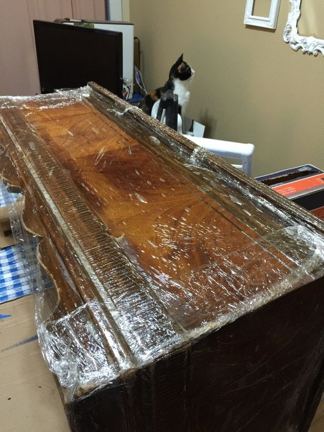 1940 s cedar chest makeover adventure with colors spitchallenge, painted furniture, woodworking projects