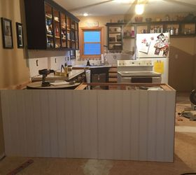 From Kitchen Island to Peninsula Kitchen Remodel Hometalk