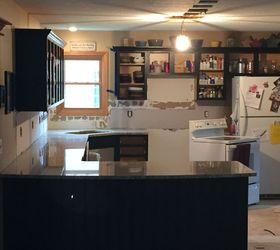 From Kitchen Island To Peninsula Kitchen Remodel, Home Improvement, Kitchen  Design Part 47